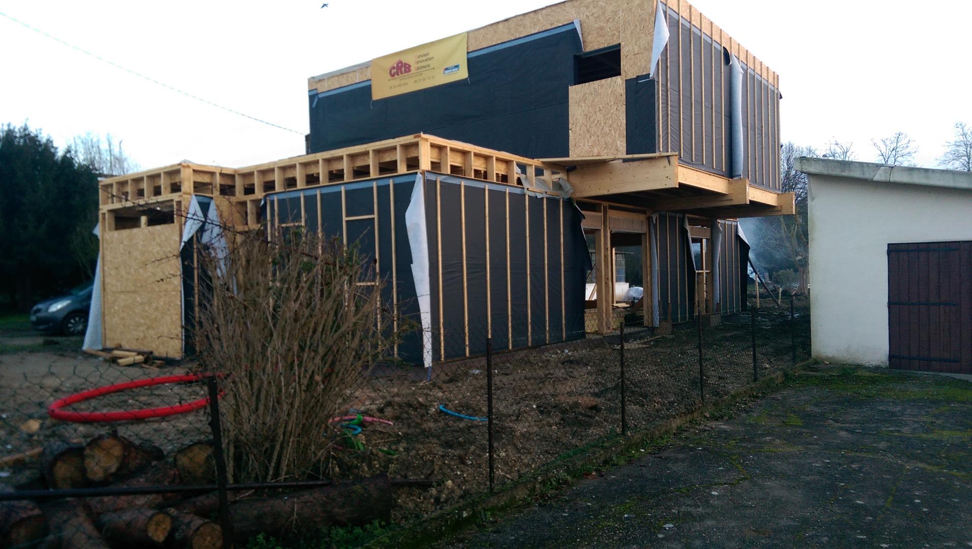Maison Ossature Bois Bordeaux crb - construction maison bois à bordeaux et villenave d'ornon